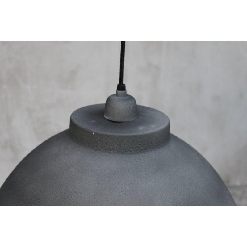 beton zement h ngeleuchte modern grau dekocharme. Black Bedroom Furniture Sets. Home Design Ideas