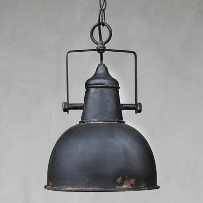 24 cm industrie lampe shabby dekocharme. Black Bedroom Furniture Sets. Home Design Ideas