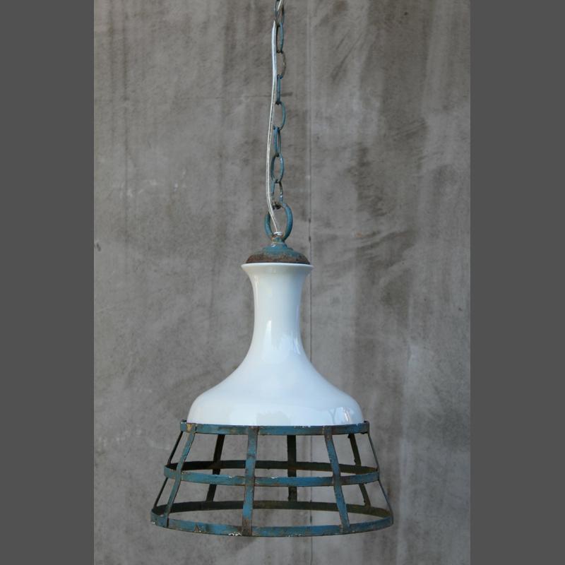 Industriedesign porzellan metall pendelleuchte dekocharme for Pendelleuchte industriedesign