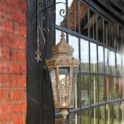 Laternen windlichter dekocharme for Kerzen laternen metall